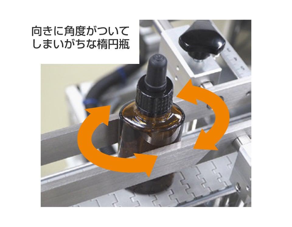 楕円/角瓶兼用両サイド貼りラベラー